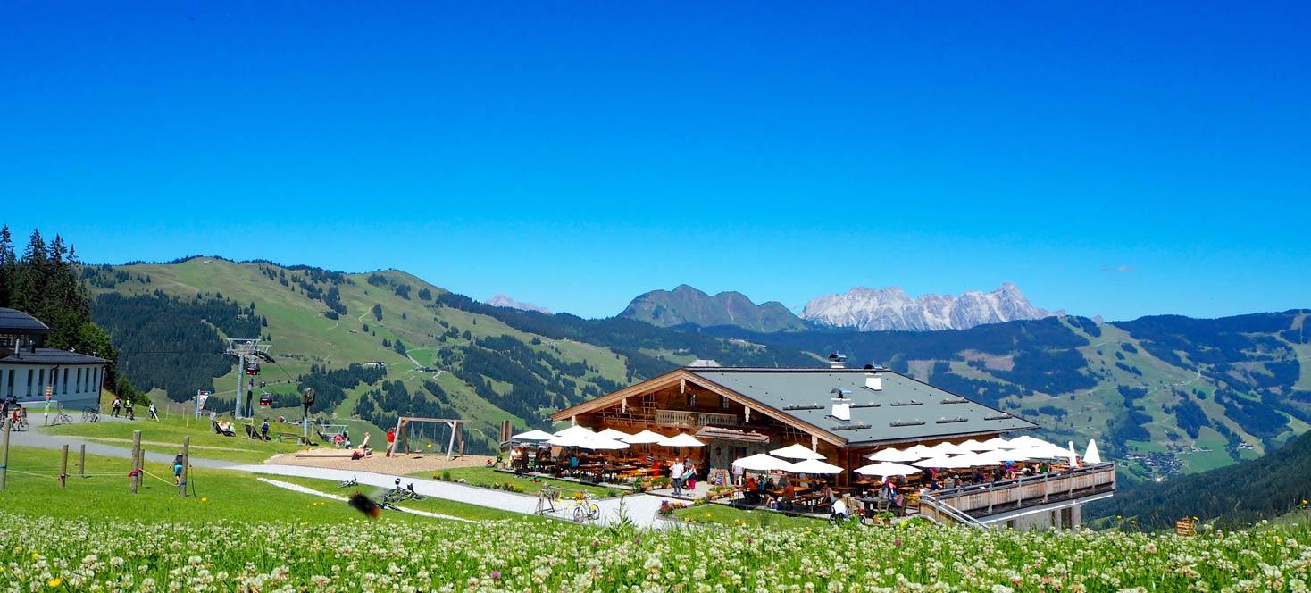 Die Winkleralm | Saalbach Hinterglemm | Sommerurlaub