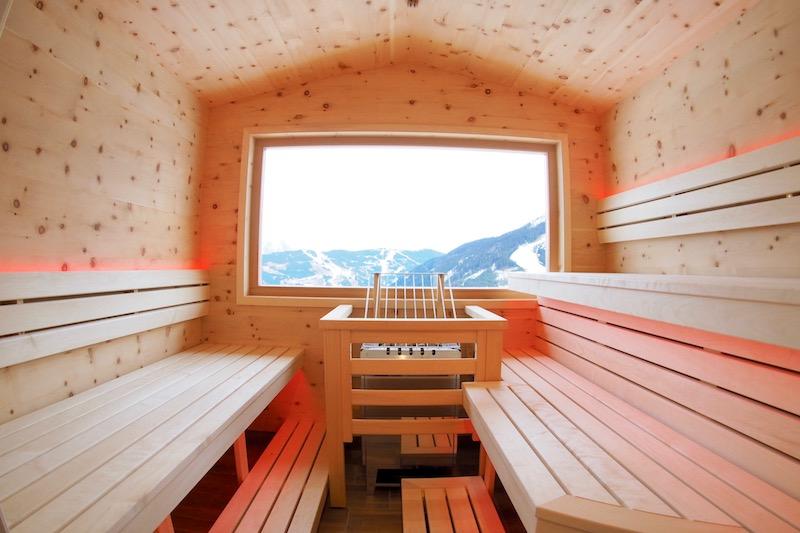 sauna auf der alm. Black Bedroom Furniture Sets. Home Design Ideas